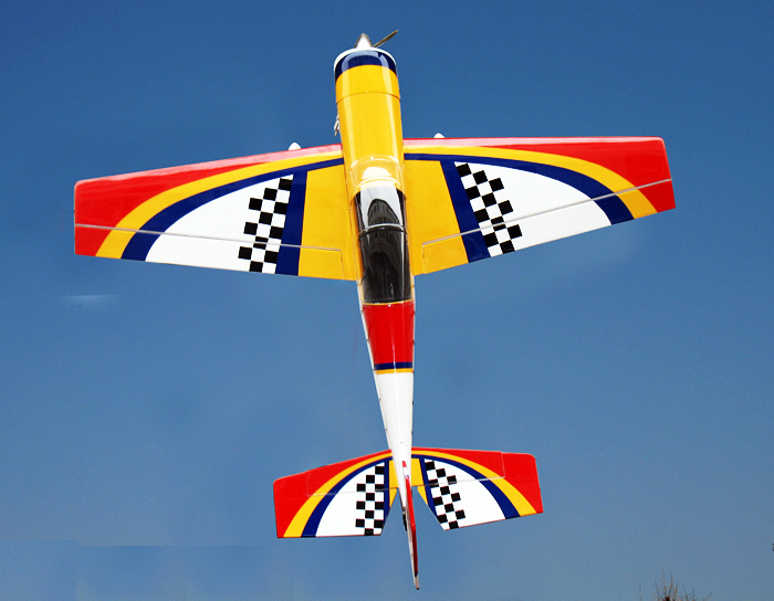 Yak 54 45.5'' Nitro/Electric RC Airplane Red