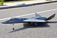 LX Northrop YF-23 Twin 70mm EDF RC Jet Kit Version
