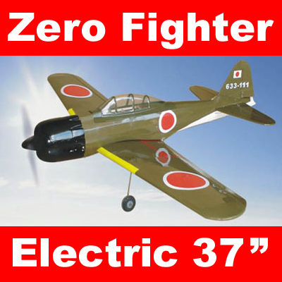 Zero Fighter Electric RC Airplane 37'' ARF