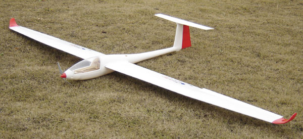 Mini Ventus 2 6M 103'' Electric RC Sailplane ARF - General Hobby