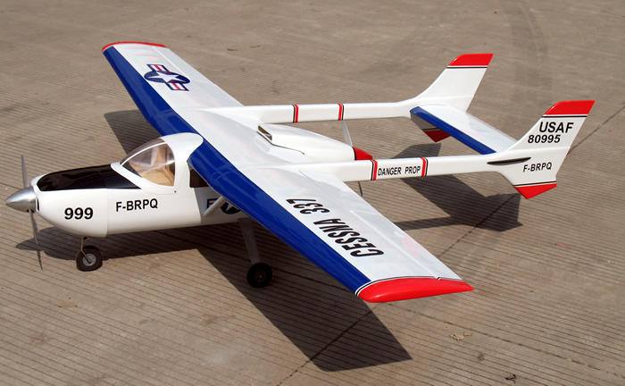 Cessna 337 Skymaster 81'' RC Airplane ARF - General Hobby