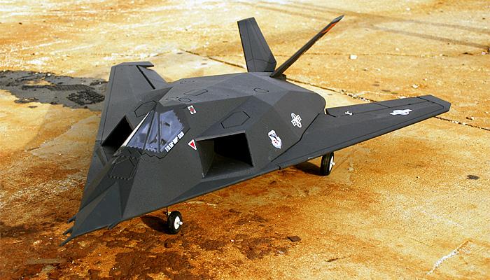 Lx Model F 117 Nighthawk Stealth Fighter 64mm Edf Electric