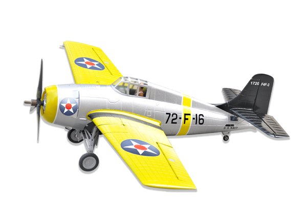 LX F4F Wildcat 47   1200mm EPO Electric RC Airplane PNP Yellow ... e8b762106