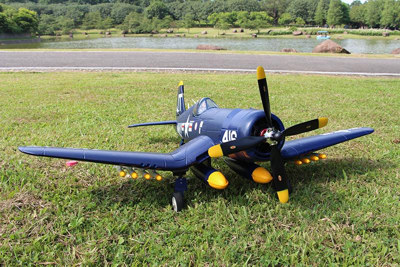 Unique Models F4U-4 Corsair 1200mm Electric RC Airplane PNP