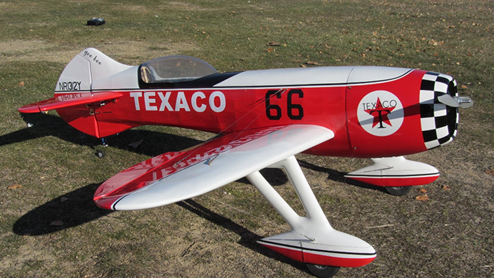 Gee Bee R3 Gas 30cc 1850mm/73'' RC Plane ARF - General Hobby