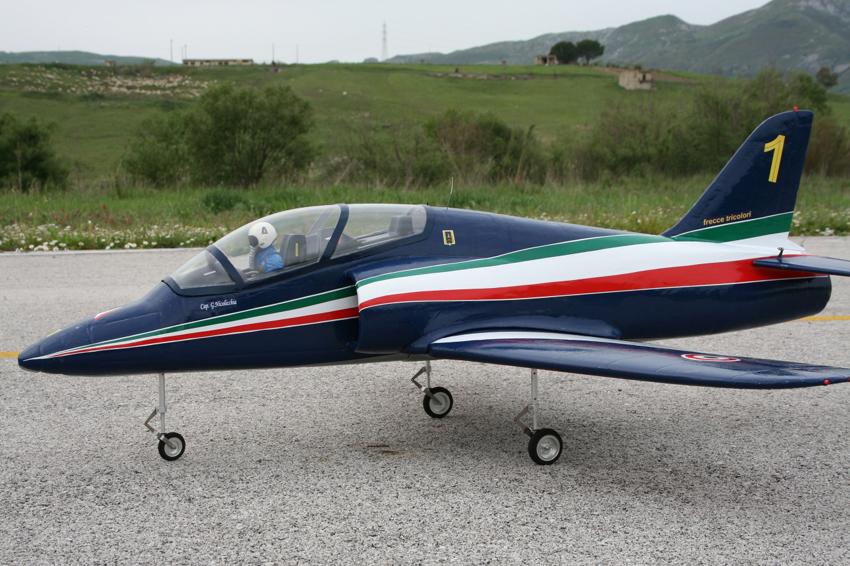 Flyfly Aermacchi MB 339 90mm EDF RC Jet Kit Version - General Hobby