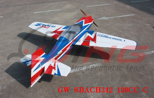 Goldwing SBach 342 120CC 108'' RC Plane C