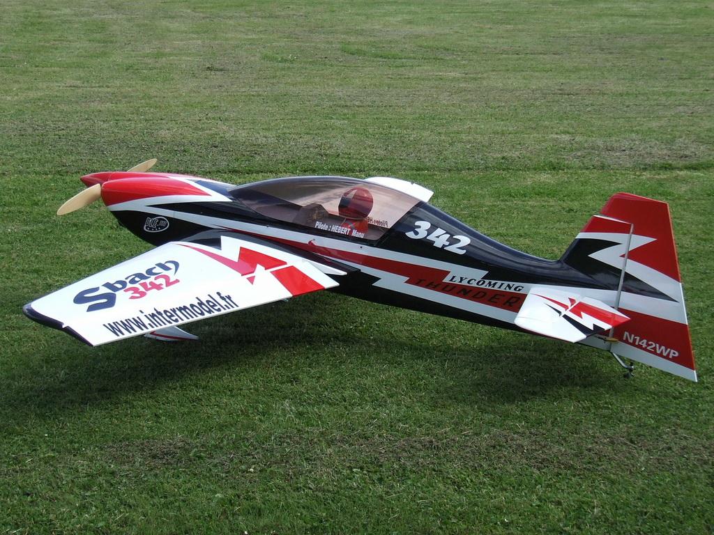 Skyway Sbach 342 30cc 73 Carbon Fiber Rc Airplane