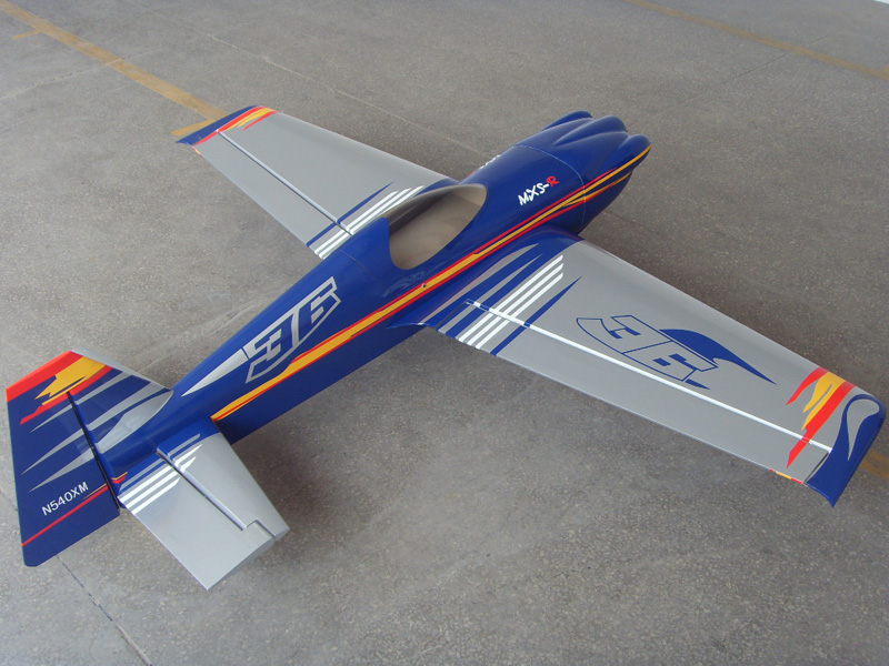 Soaring Eagle MXS-R 50CC 89''/2260mm RC Airplane With Carbon Fiber