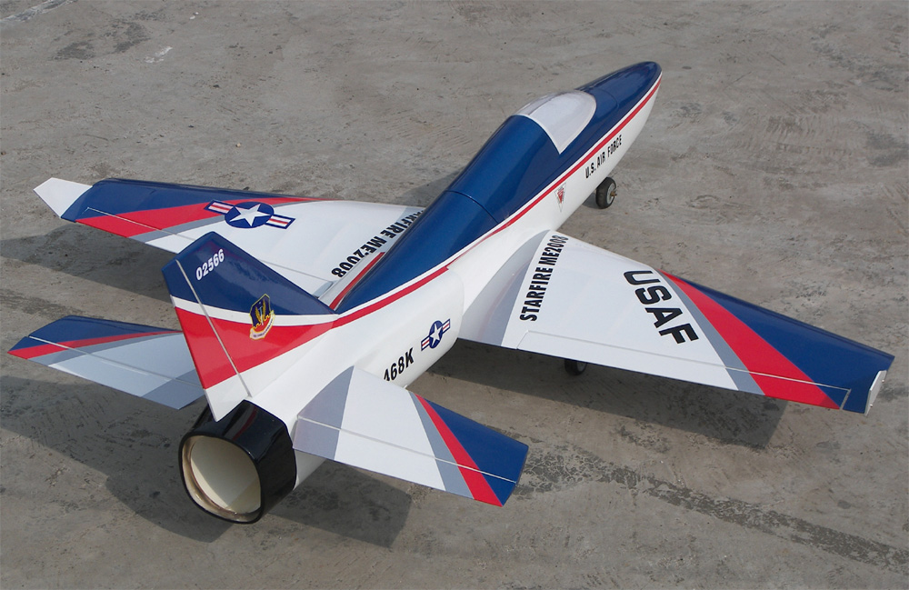 Starfire 53 Electric Ducted Fan Rc Jet Airplane Arf