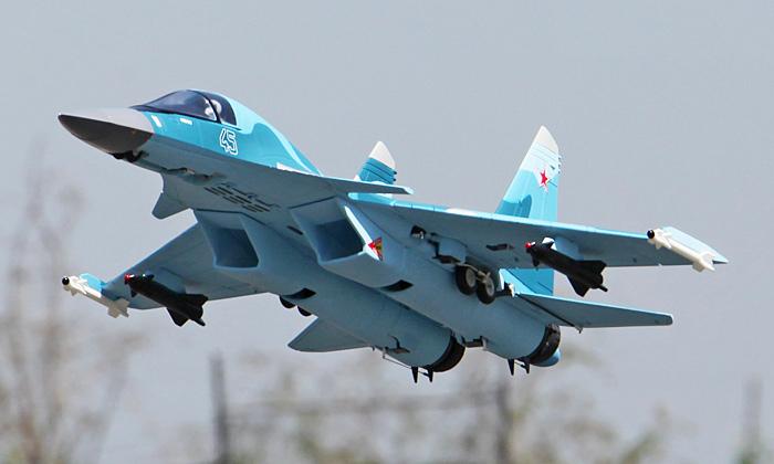 Freewing Su-34 Fullback Dual 64mm EDF 360-Degree Vector