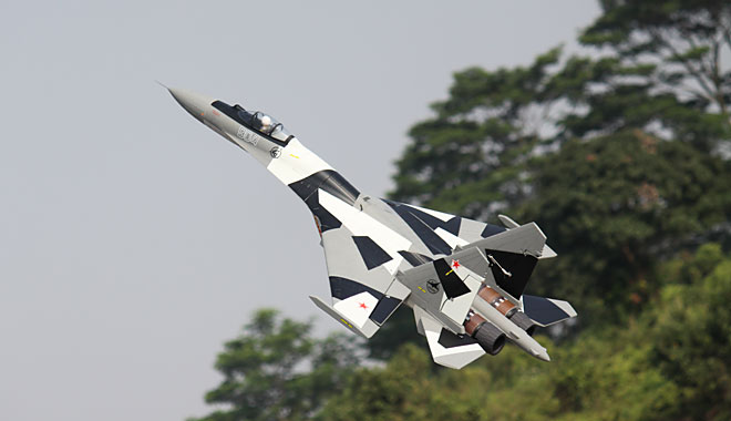 Freewing Su 35 Twin 70mm Edf With Thrust Vector Rc Jet Pnp