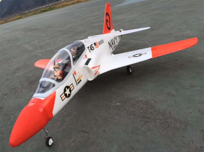 Goshawk T-45 64mm EDF Jet 950mm Wingspan RC Airplane PNP
