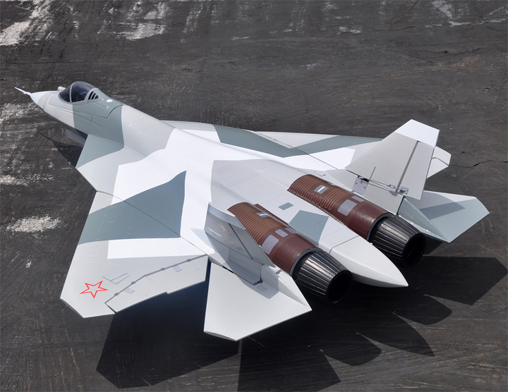 LX T-50 Twin 70mm EDF RC Jet Fighter With Metal Retracts Kit Version