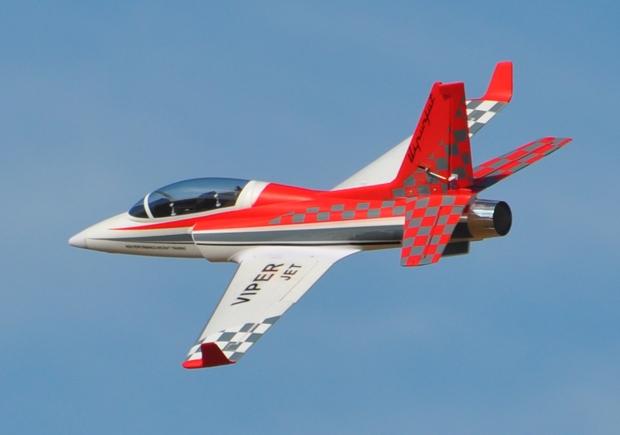 Taft-Hobby ViperJet 90mm EDF RC Jet Kit Version Red - General Hobby