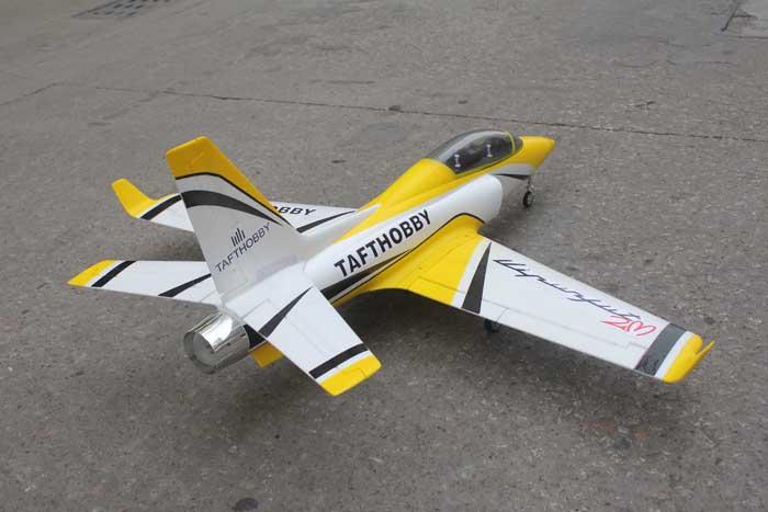 Taft-Hobby ViperJet 90mm EDF RC Jet Kit Version Yellow - General Hobby