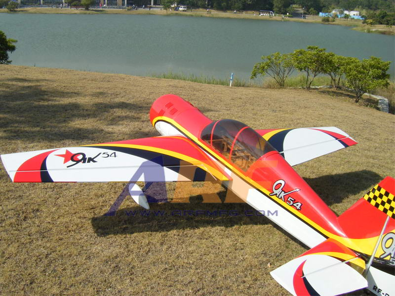 Cheap Sports Cars >> ARFMFG Yak 54 26CC 70in RC Airplane A ARF - General Hobby