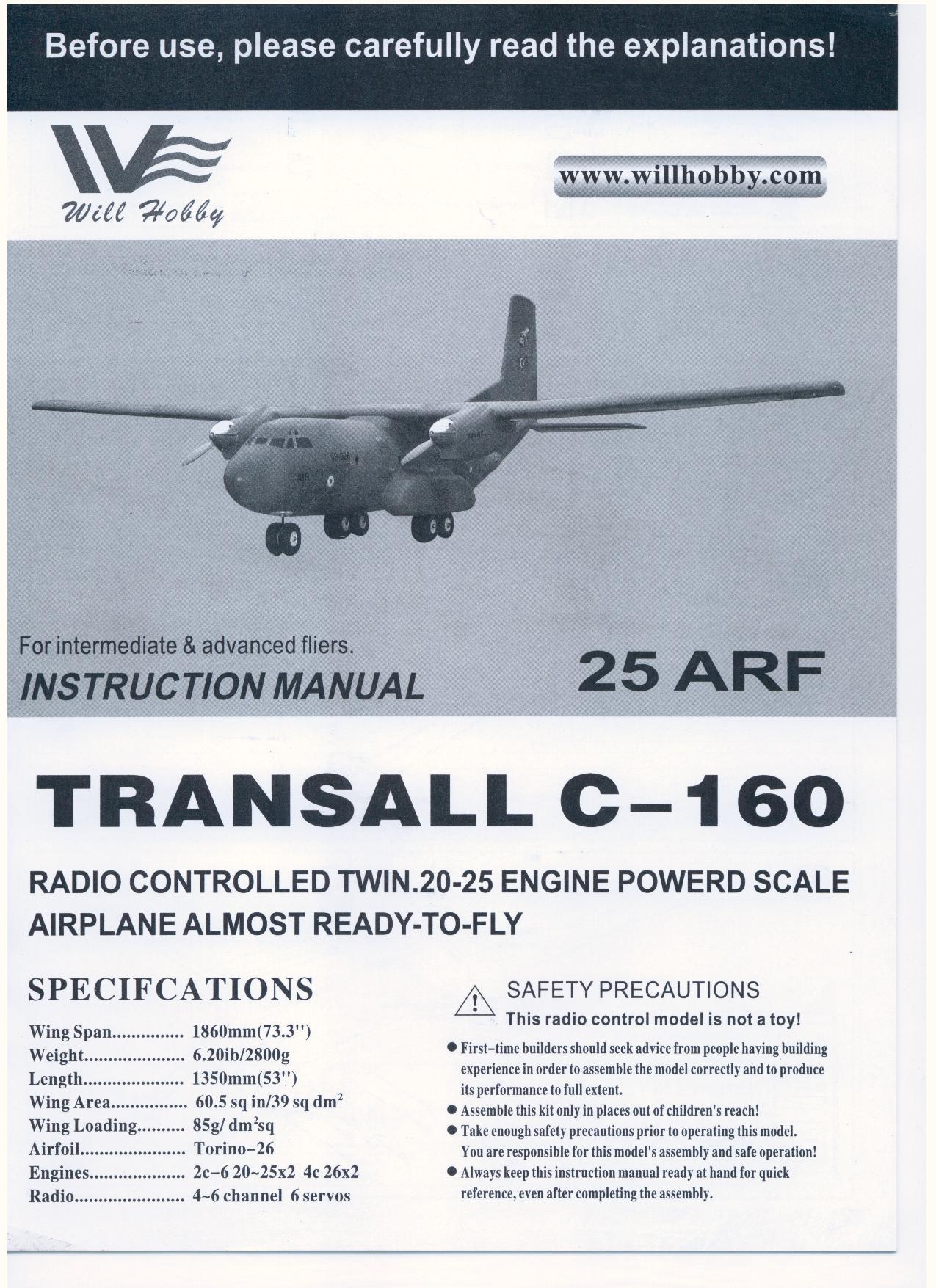 transall c 160 manual rh generalhobby com spaj 160 c manual olympus camedia c-160 manual